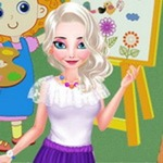 Art Teacher Elsa