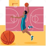 Basket Training - A professional basketball player