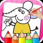 Bts Peppa Pig Coloring