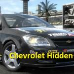 Chevrolet Hidden Tires