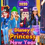 Disney Princess New Year Eve