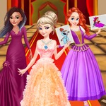 Disney Princesses Drawing Party