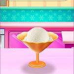 Elsa Homemade Ice Cream
