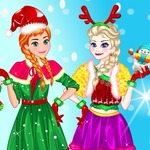 Elsa Make Christmas Gift - A warm Christmas party with your love