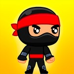 Jump Ninja Hero – The race of a ninja hero