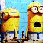 Minion Jigsaw Puzzle - Collect all pictures of cute minions