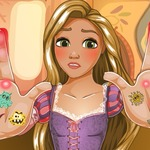 Rapunzel Hand Doctor - Who wants to become a doctor?