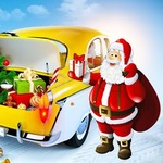 Santa Claus Vehicles - Challenge your intelligence